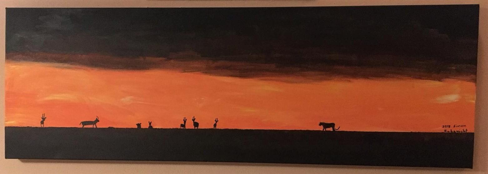 Acryl-Bild Afrika